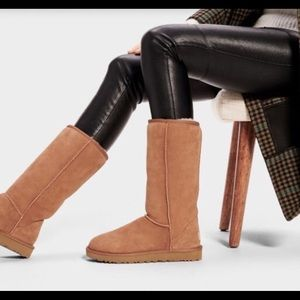❤️UGG CLASSIC TALL CHESTNUT BOOTS ~ 9